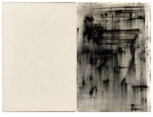 Gabriel Truan st 3 diptico tinta sobre tela (2x) 30 x 20 cm 2002