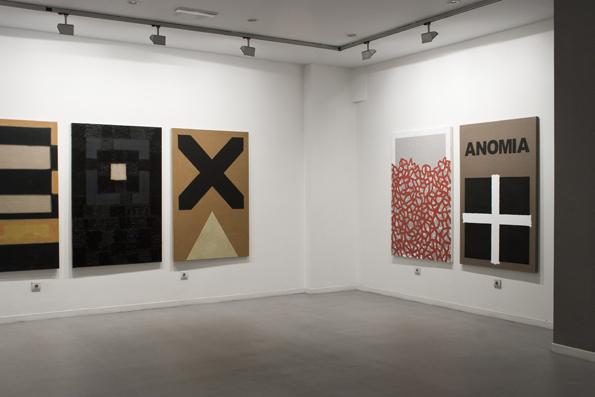 Gabriel Truan exp. Anomia Galeria Gema LLamazares Gijon 2012