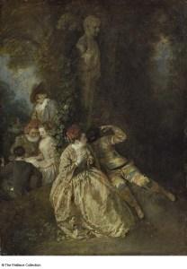 Voulez vouz triompher des belles? Watteau