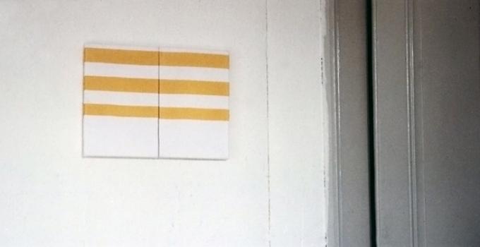 Gabriel Truan recuerdo de un paisaje marino serigrafia sobre tela (2x) 30 x 20 cm 1991