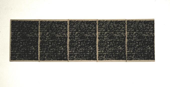 Gabriel Truan st serigrafia sobre tela (5x) 30 x 20 cm 1991