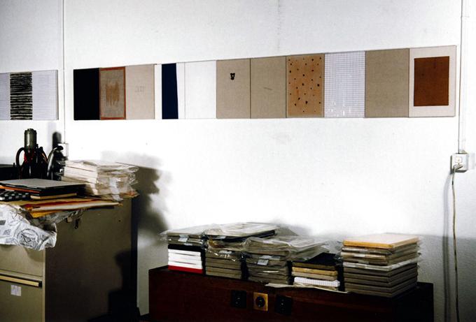 30x20cm estudio 1991 Ginebra