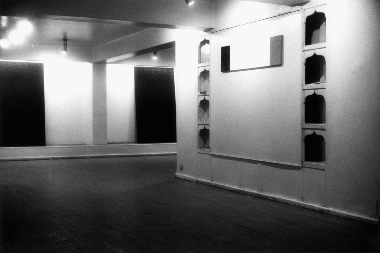 Gabriel Truan vista 1 de la expo en la Mashrabia Gallery Cairo 1992