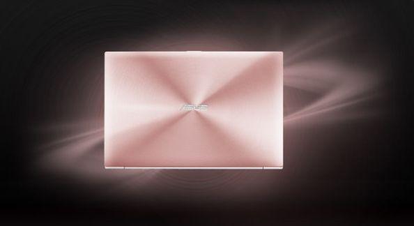 Asus ZenBook Rose Gold - poza 3