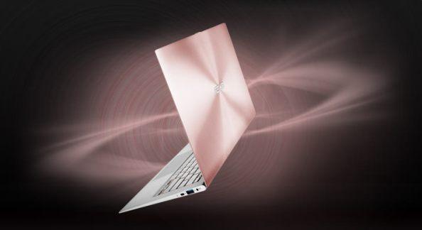 Asus ZenBook Rose Gold - poza 4