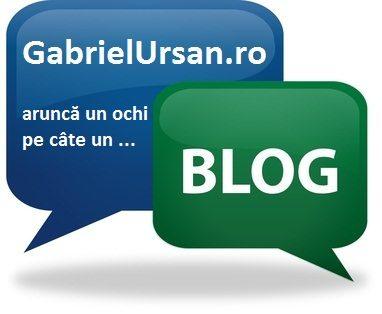 Un blog pe saptamana