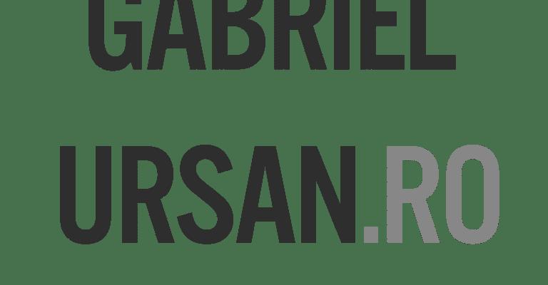 Votează GabrielUrsan.ro drept blogul săptămânii!