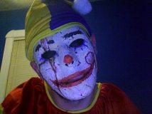 Costum de clown Halloween