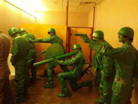 Costum soldati Halloween