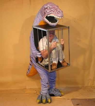Costumul cusca de dinozaur Halloween