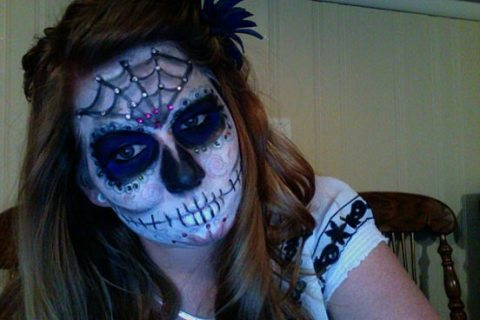 Machiaj de Halloween 2012