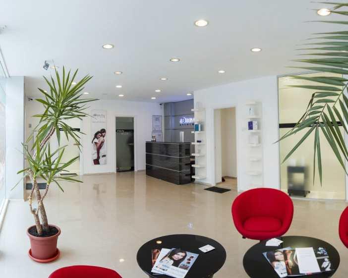 Sala asteptare aBeauty clinique Galati