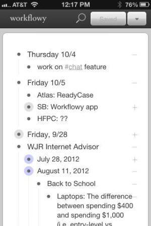 WorkFlowy (iOS)