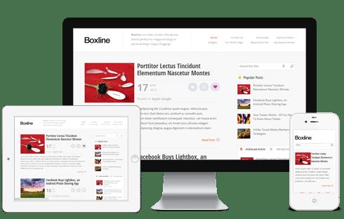 Temă premium pentru blogul personal