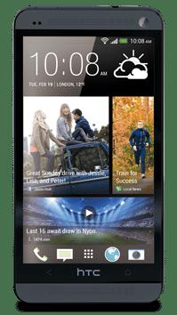 HTC One pe negru