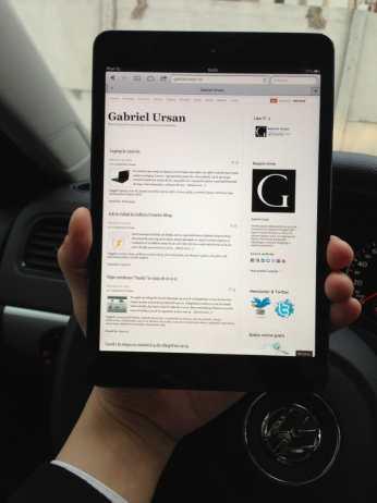 Model iPad mini 16GB Wi-Fi Negru