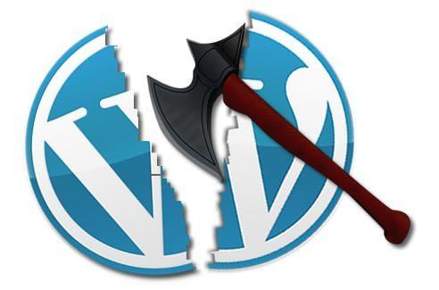 Cum spargi un blog WordPress