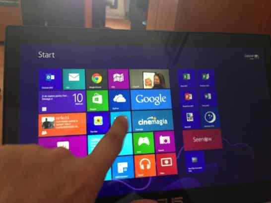 Touchscreen Asus ZenBook 2