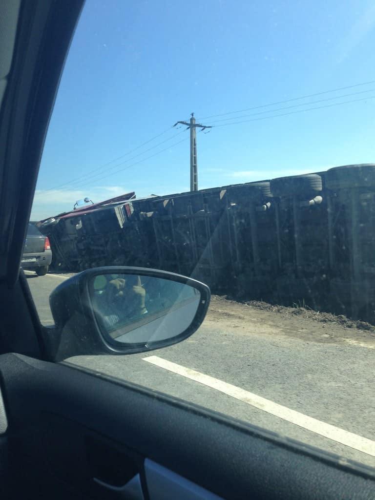 Accident pe drumul dintre Tecuci și Bârlad 3