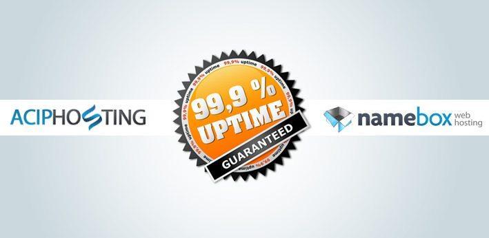 99,9 % uptime