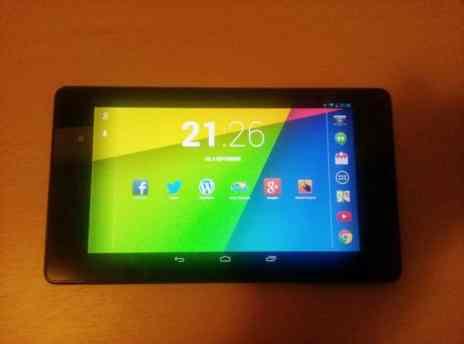 Nexus 7 2 landscape