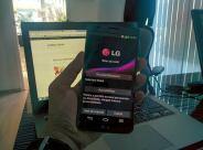 LG G Flex utilizare