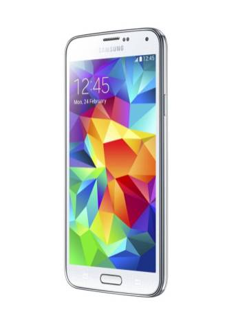 GALAXY S5_Shimmery White