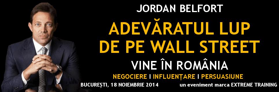 Jordan Belford Romania
