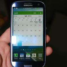 Samsung Galaxy S3 poza 3