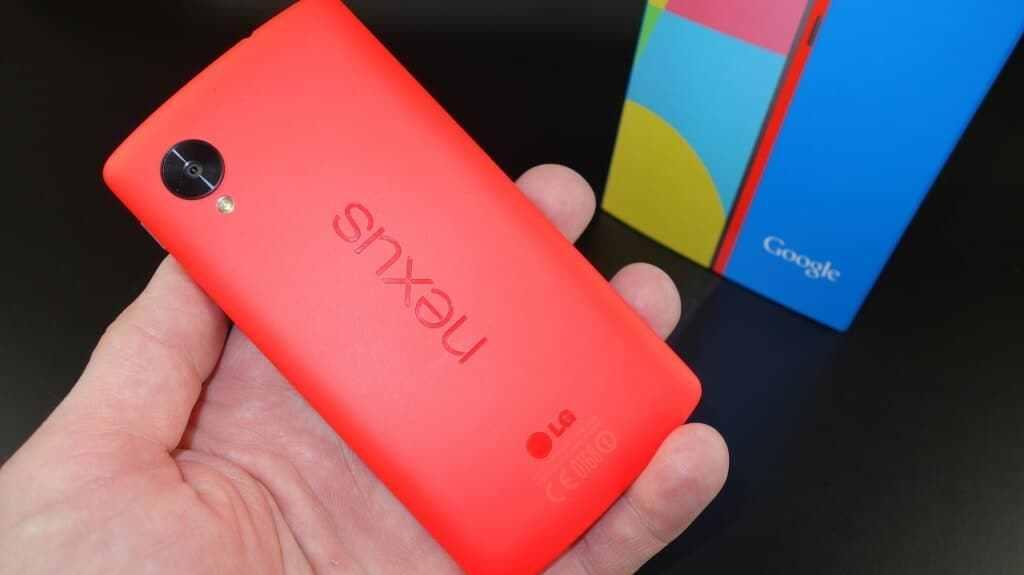 Nexus 5 rosu