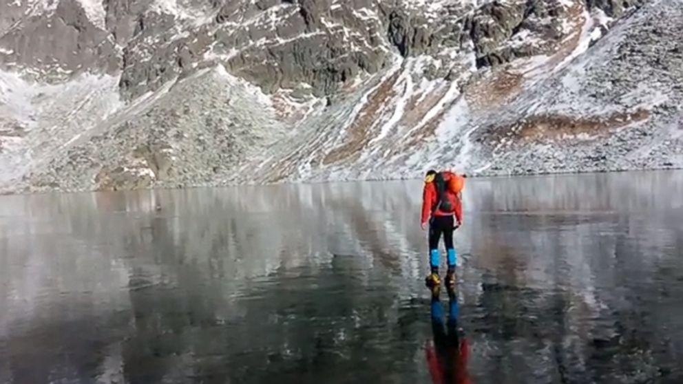 Mers pe gheata in muntii Slovaciei