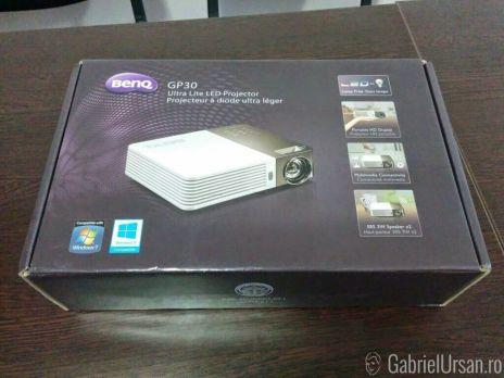 Poza 1 Videoproiector portabil BenQ GP30