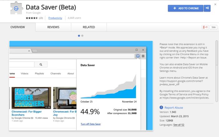 Data Saver