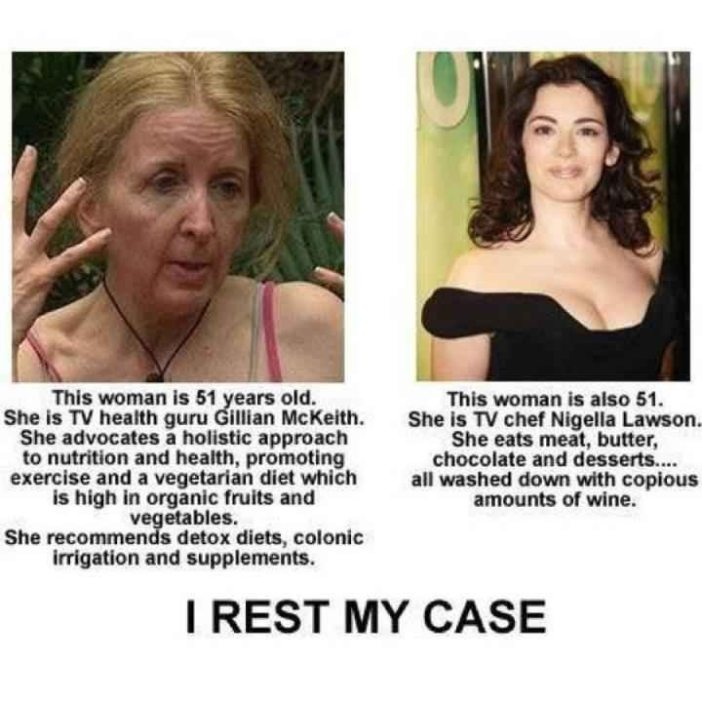 GILLIAN MCKEITH VS NIGELLA LAWSON