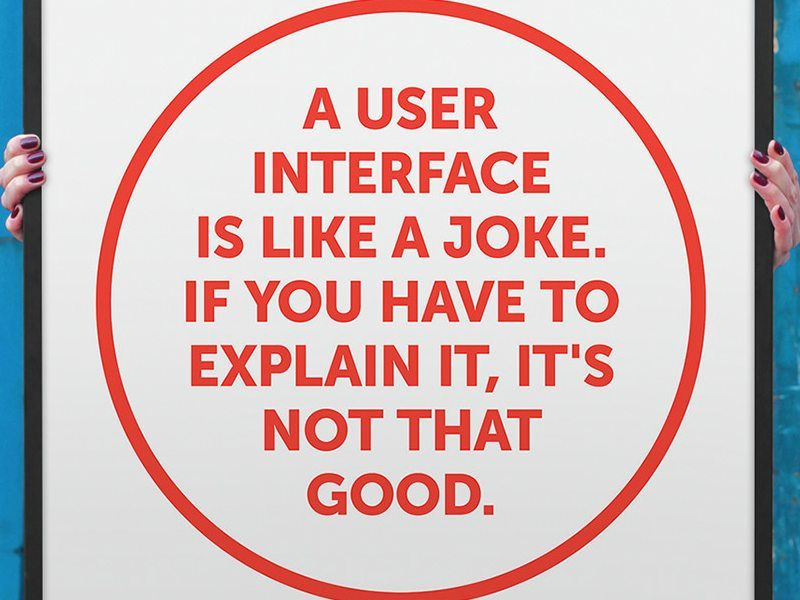 Interfata utilizator e ca o gluma