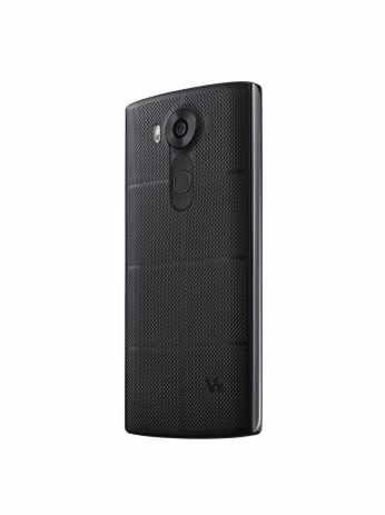 LG V10 negru din spate inca o perspectiva
