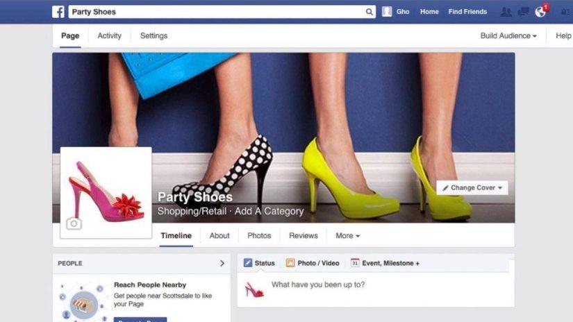 Magazin Online pe Facebook