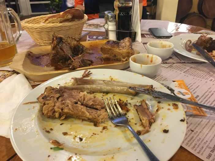 Coaste de porc beraria H