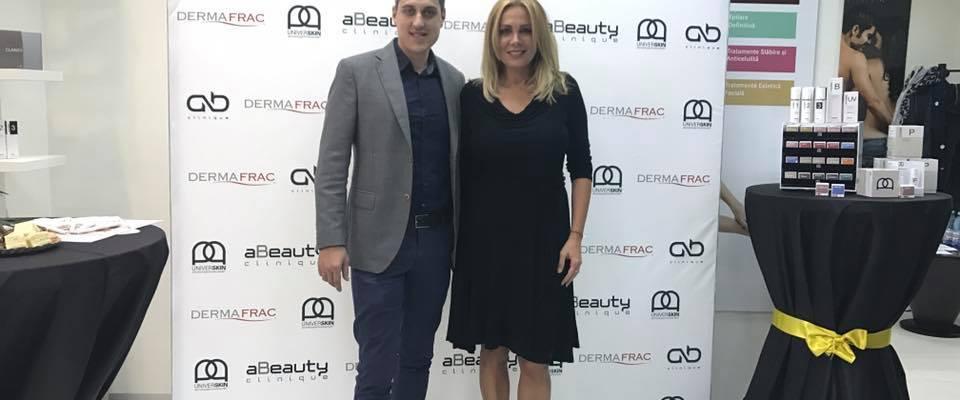Dana Săvuică și-a creat propriul serum Universkin la aBeauty Clinique