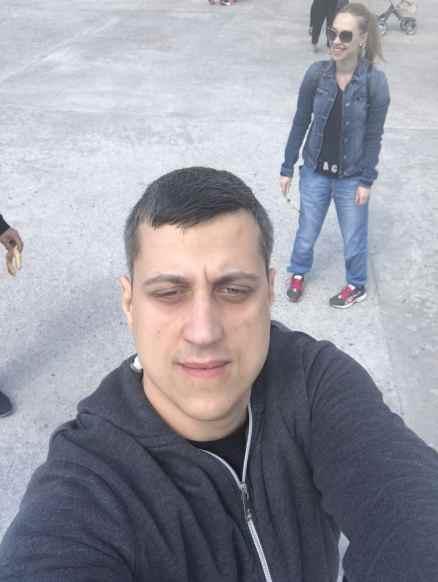 Un selfie din centru Tulcea
