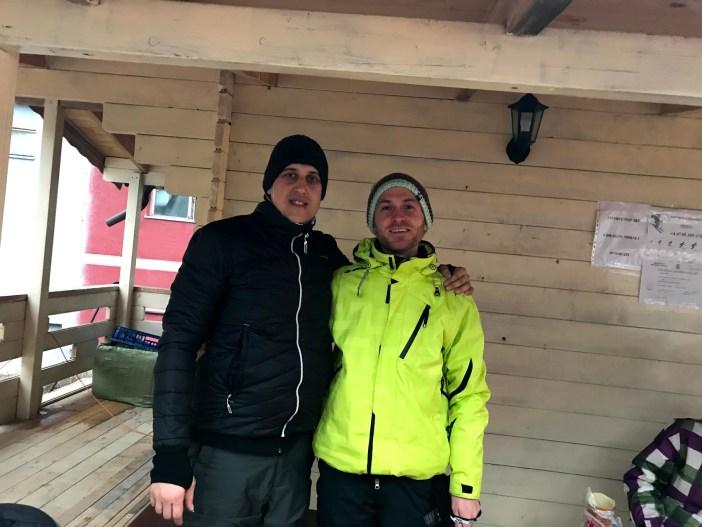 Instructor schi Dragos Slanic Molodova