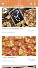 6. Selectează restaurantul dorit