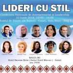 """Participă la Conferința Națională de Antreprenoriat și Leadership """"Lideri cu Stil"""""""