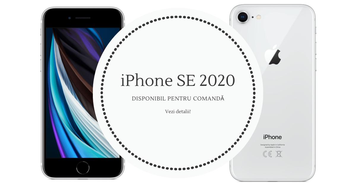 iPhone SE 2020 Disponibil comanda