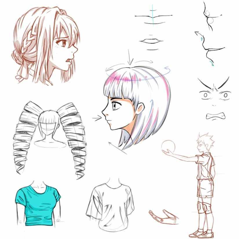 desen japonez manga galati