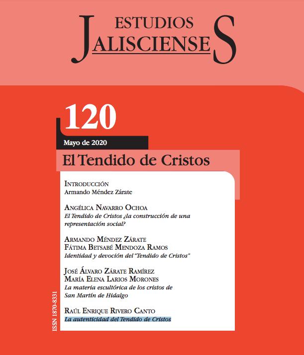 """Revista """"Estudios jaliscienses"""" ,Tendido de Cristos en San Martín Hidalgo, Jalisco."""
