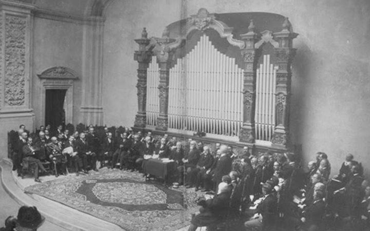 Discurso inaugural de la Universidad Nacional, por Justo Sierra
