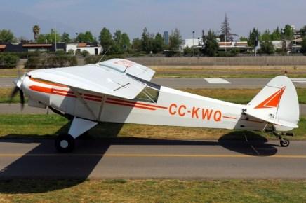 Super Cub: Piper PA-18 CC-KWQ del CPV (foto: Carlos Ay).