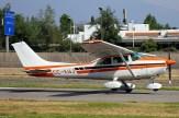 Skylane II: Cessna 182 CC-KWJ del CPV (foto: Carlos Ay).