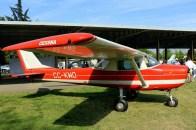 Uno Cinco Cero: Cessna 150 CC-KWO del CPV (foto: Carlos Ay).